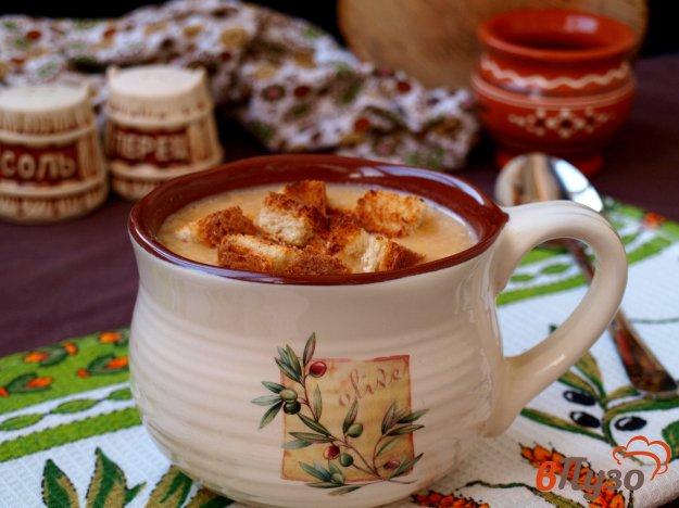 фото рецепта: Суп-пюре из риса с чечевицей