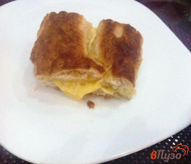 фото рецепта: Пирога из лаваша и сулугуни