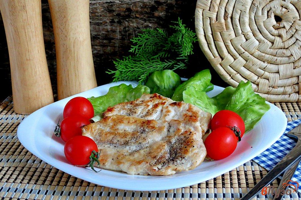 Фото приготовление рецепта: Сочная куриная грудка за 5 минут шаг №6