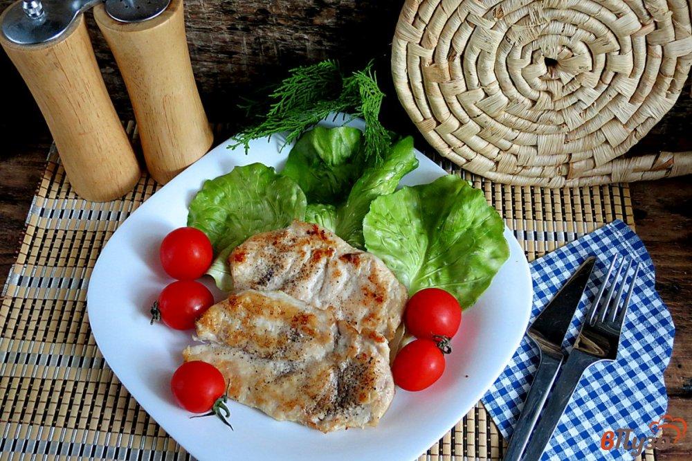 Фото приготовление рецепта: Сочная куриная грудка за 5 минут шаг №7