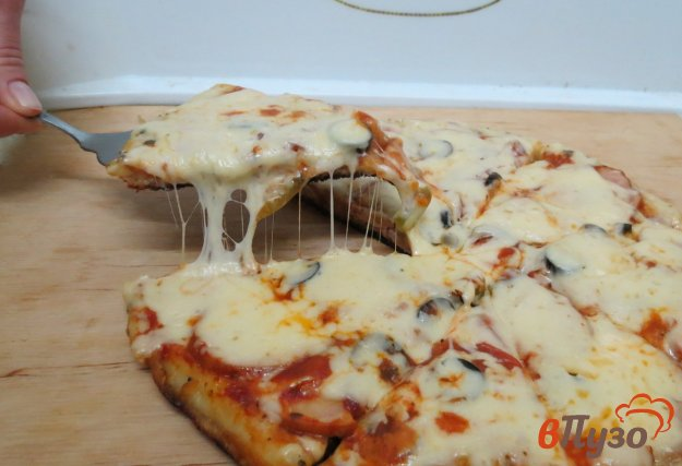 фото рецепта: Пицца на сковороде