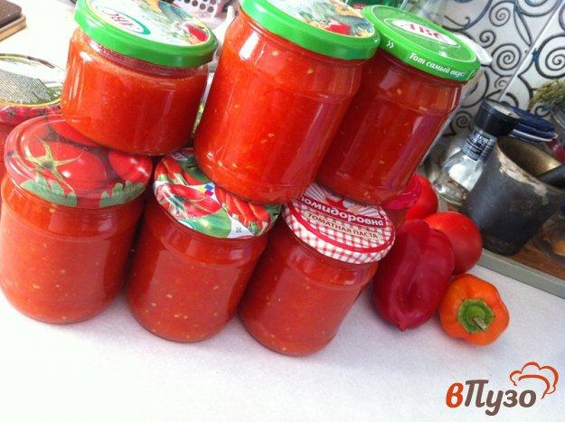 фото рецепта: Томатный соус на зиму