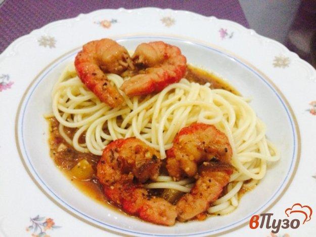 фото рецепта: Спагетти с морепродуктами