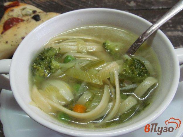 фото рецепта: Суп с лапшой