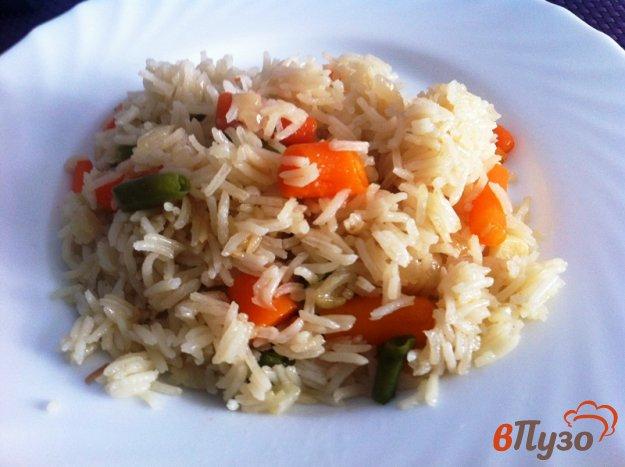 фото рецепта: Гарнир из риса и овощей