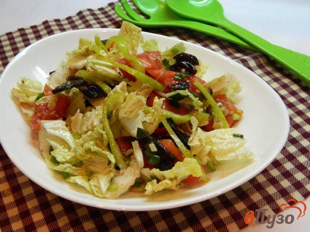 фото рецепта: Салат из пекинской капусты с черносливом
