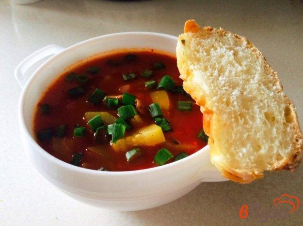 фото рецепта: Томатный суп из цукини
