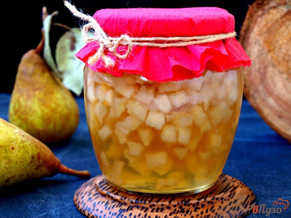 Фото приготовление рецепта: Варенье из груш