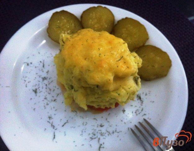 фото рецепта: Филе хека под картофельно шубкой