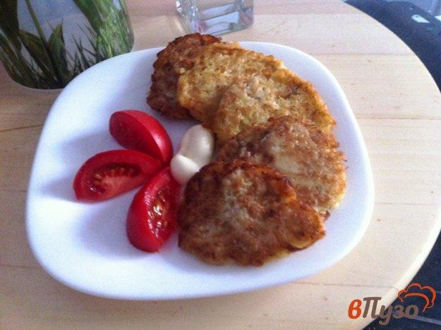 фото рецепта: Овощные  оладьи