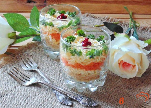 фото рецепта: Салат с морковью и яблоком