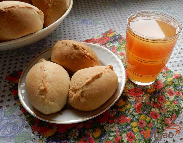 фото рецепта: Пирожки с начинкой из ревеня