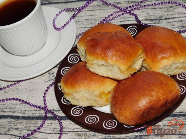 фото рецепта: Булочки с абрикосовым вареньем