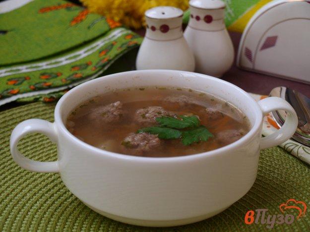 фото рецепта: Гречневый суп с фрикадельками