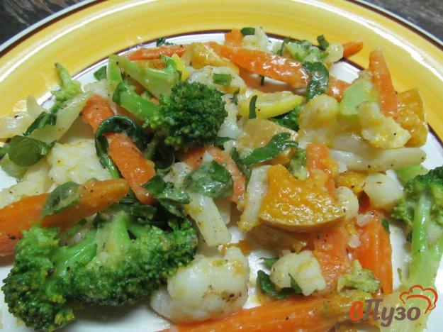 фото рецепта: Овощной теплый салат медлей