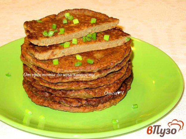 фото рецепта: Печеночные оладьи