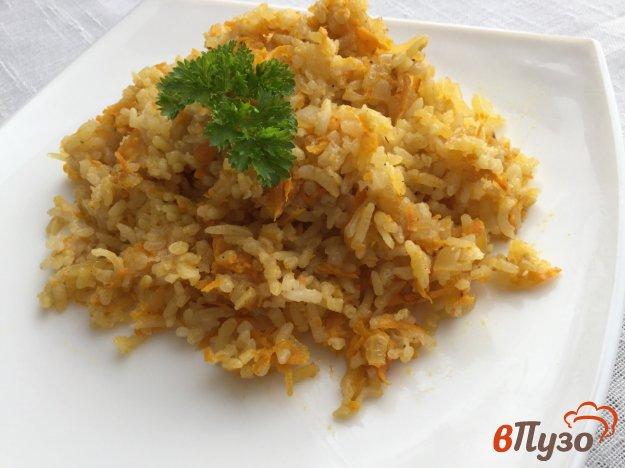 Рис с морковью и луком - пошаговый рецепт с фото на Повар. ру