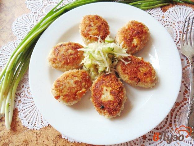 фото рецепта: Котлеты с овощами и грибами