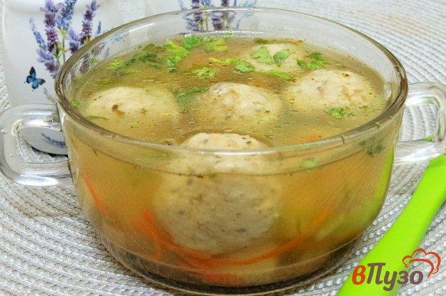 фото рецепта: Суп с рыбными фрикадельками