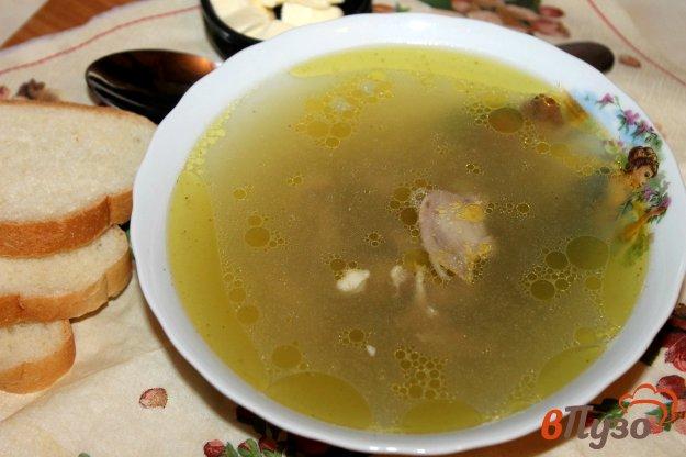 фото рецепта: Куриный бульон с сельдереем