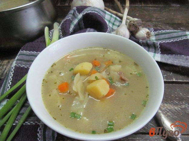 фото рецепта: Суп из баранины с чечевицей и овощами
