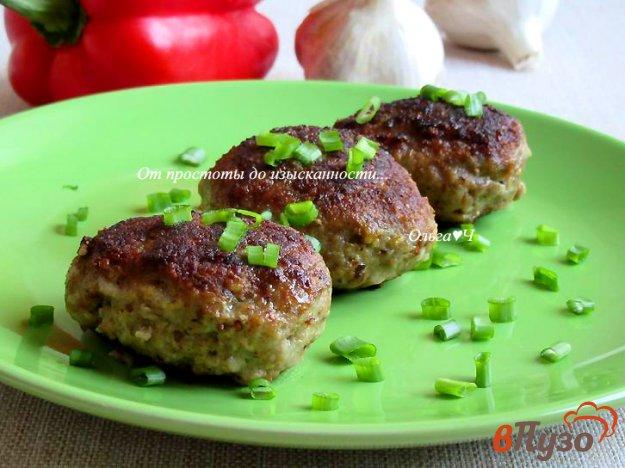 фото рецепта: Мясные котлеты с чесноком и горчицей