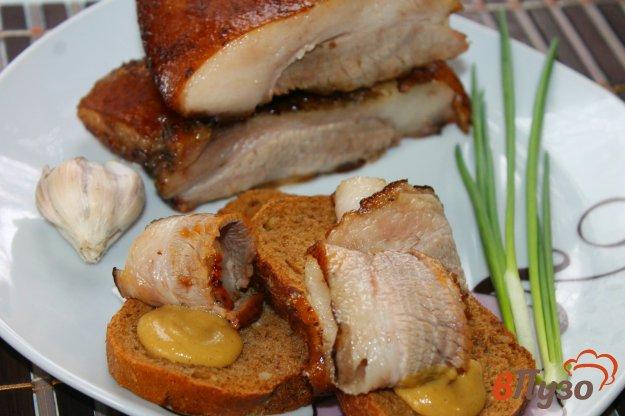 фото рецепта: Запеченная свиная грудинка в китайском стиле