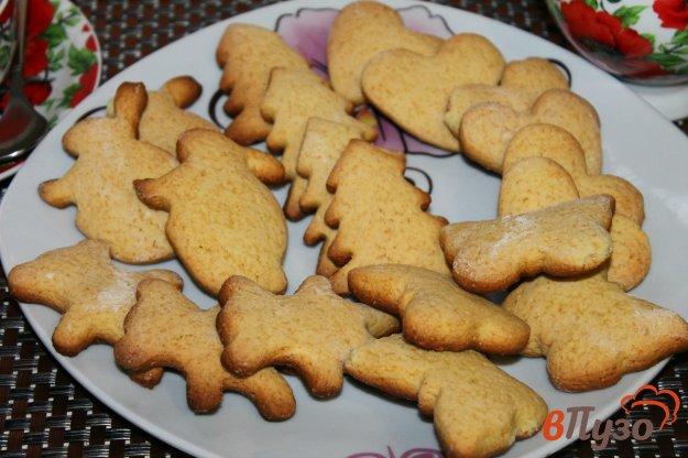 фото рецепта: Печенье с медом и ванилью