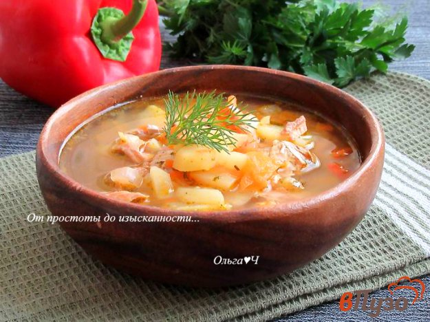 фото рецепта: Суп с горбушей