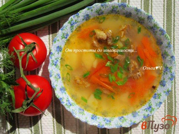 фото рецепта: Суп с говядиной и помидорами