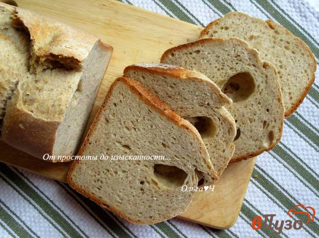 фото рецепта: Ржано-пшеничный хлеб на молоке и сливочном масле