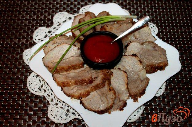 фото рецепта: Свинина в острой аджике запеченная в рукаве