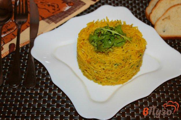 фото рецепта: Рис с карри, чесноком и сливочным маслом