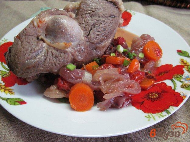 фото рецепта: Тушеная баранина с овощами и травами