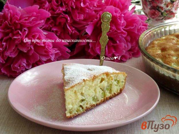 фото рецепта: Пирог с ревенем