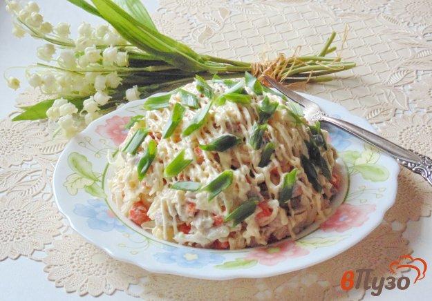 фото рецепта: Салат из свинины с маринованным луком