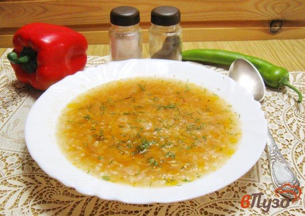 фото рецепта: Суп харчо на свином бульоне