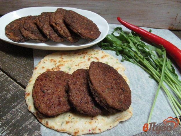 фото рецепта: Овощные оладьи с куриной печенью