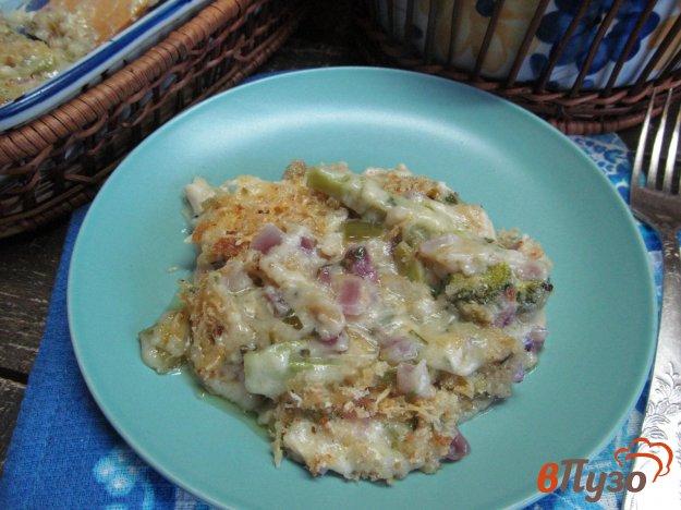 фото рецепта: Запеканка из курицы с брокколи