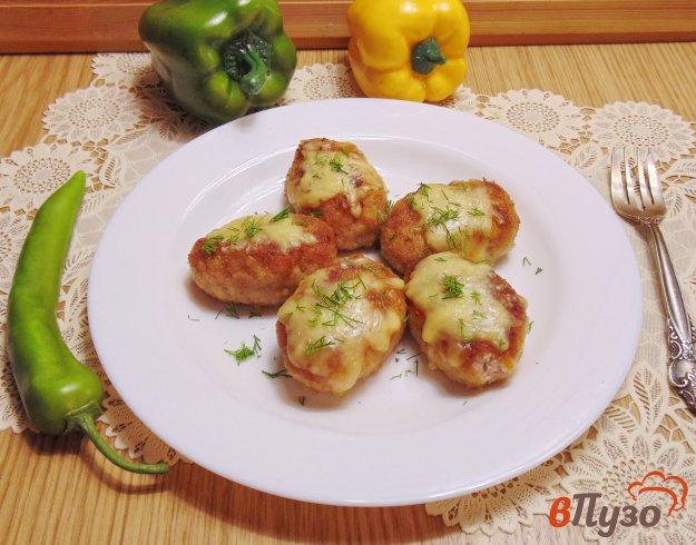 фото рецепта: Котлеты из свинины с курицей в сливках