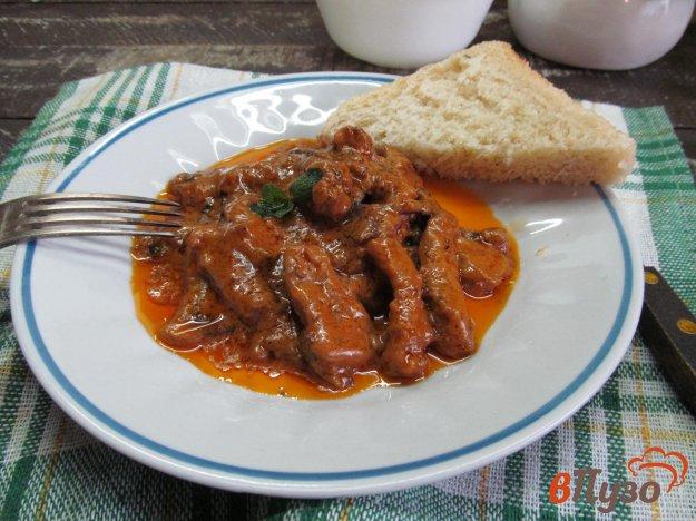 фото рецепта: Бефстроганов по-итальянски