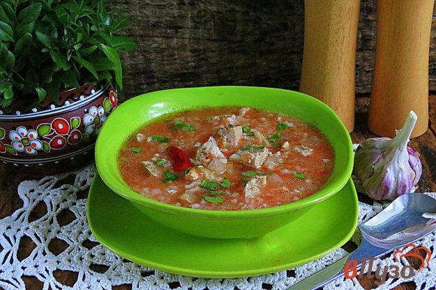 фото рецепта: Суп из свинины с рисом