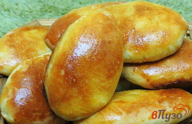 фото рецепта: Пирожки с капустой, яйцом и укропом