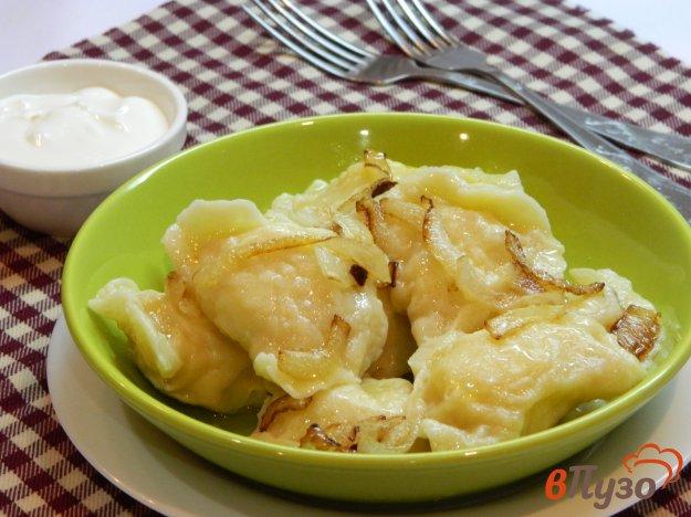 фото рецепта: Вареники с картошкой на заварном тесте