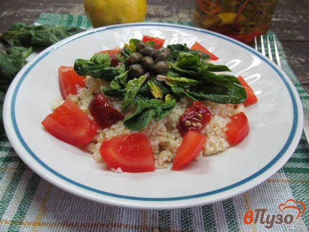 фото рецепта: Табуле салат с яичным скрэмблом