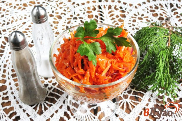 фото рецепта: Французский морковный салат