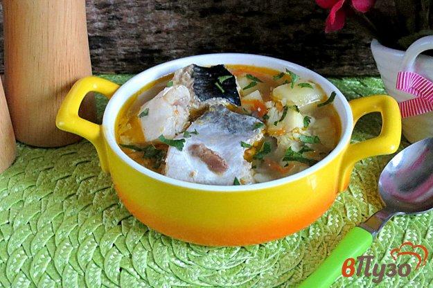 фото рецепта: Суп с тунцом и хеком
