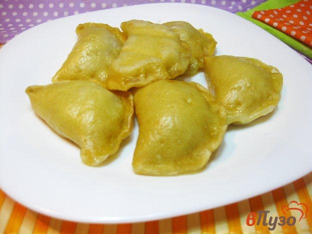 фото рецепта: Вареники с капустой на пару