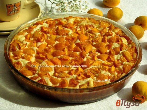 фото рецепта: Творожник с абрикосами