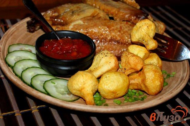 фото рецепта: Картофельные грибочки на гарнир